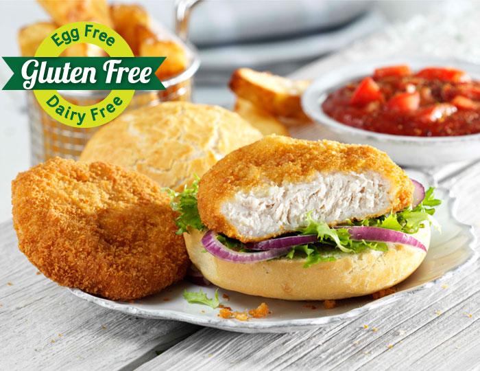 Breaded Chicken Burger