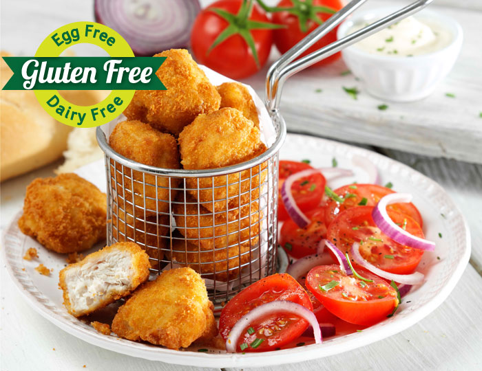 Breaded Chicken Chunks - Plain & Southern Fried