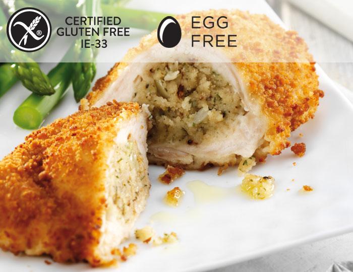 Rosie & Jim Farmhouse Stuffing Chicken Kiev Gluten Free
