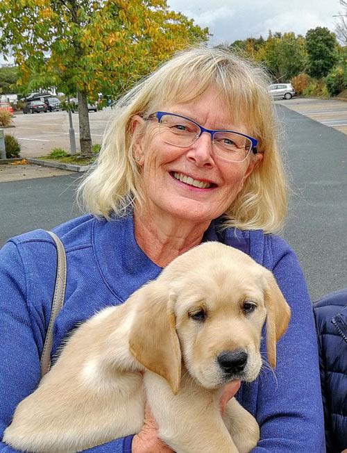 Kathy - Puppy Raiser