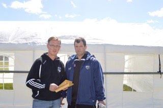 Niall Murphy & Michael Hogan Organisers of Sports Day