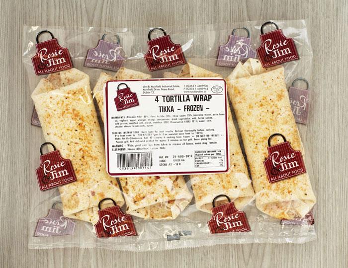 Rosie & Jim Tikka Chicken Wrap