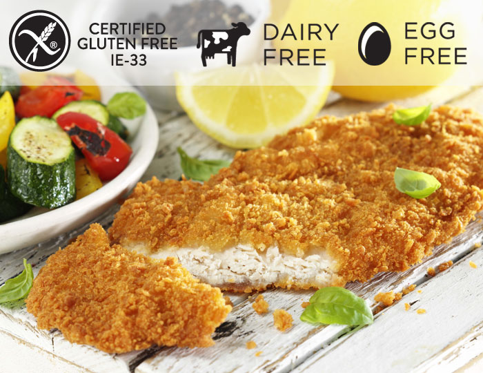 Breaded Chicken Schnitzel - Allergy Free