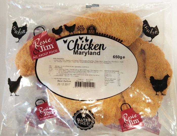 Rosie & Jim Garlic Chicken Kiev Gluten Free