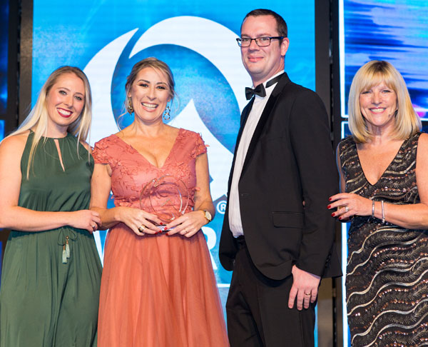 Q Awards 2018 - Tracey & Peter