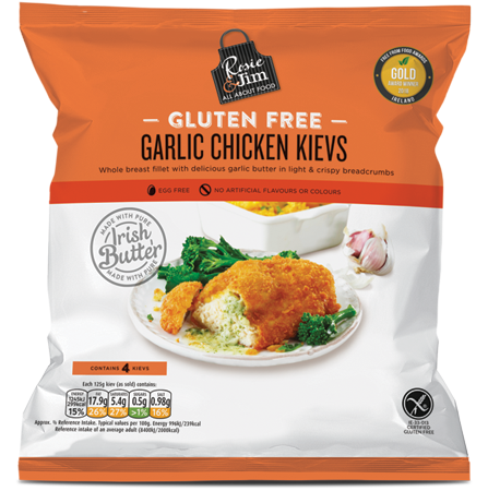 Rosie & Jim Chicken Kievs 500g available in Supermarkets