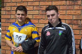 Sean Mcloughlin & Robert Hogan at Courtwood Sports Day Sponsored by Rosie & Jim