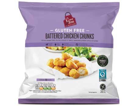 Battered Chicken Chunks