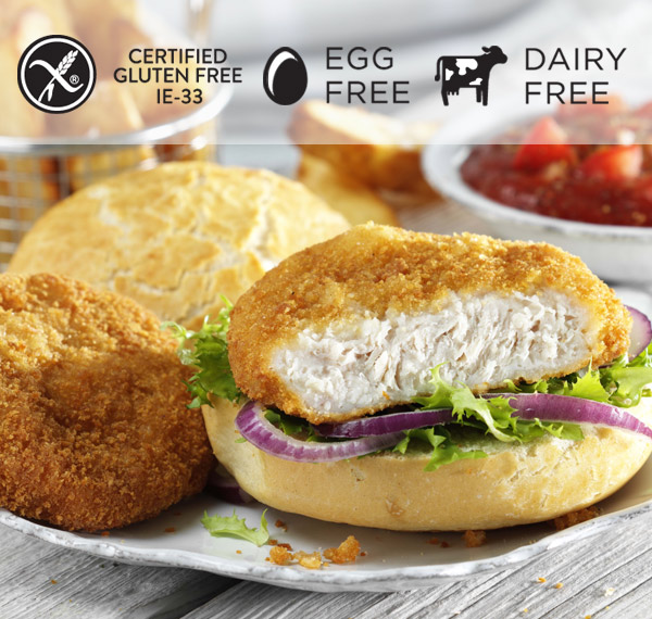Foodservice - Chicken Burger Breaded
