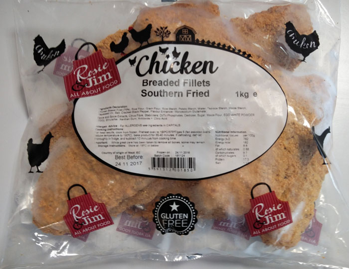 Southern Fried Chicken Fillet Bag